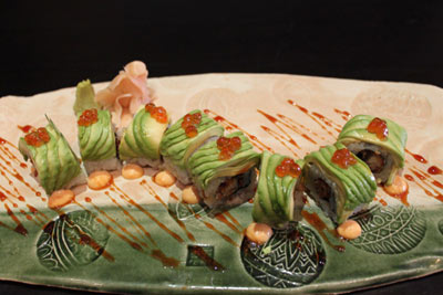 Caterpillar roll :: Taiko Sushi